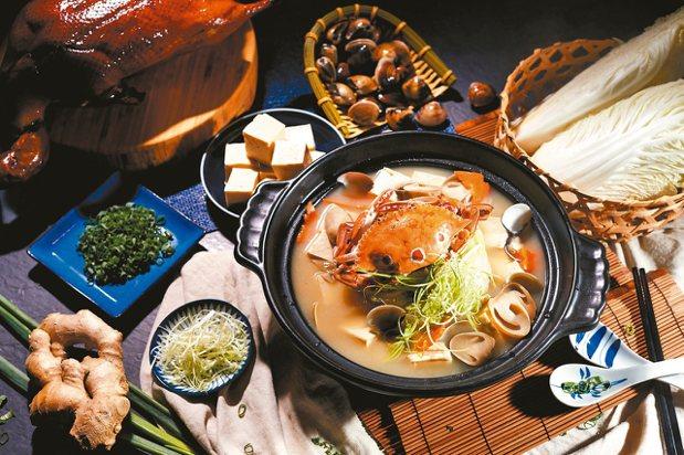 海陸鴨煲鍋 圖/業者提供