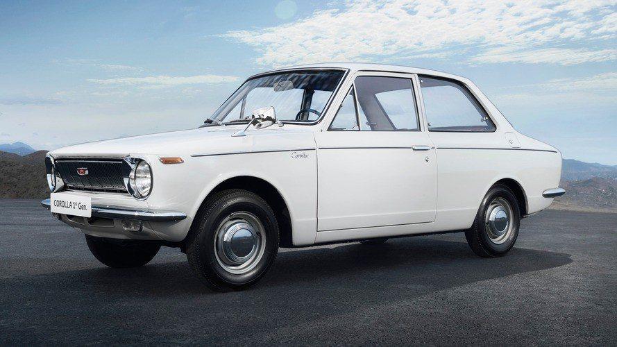 第一代Toyota Corolla。 摘自Toyota