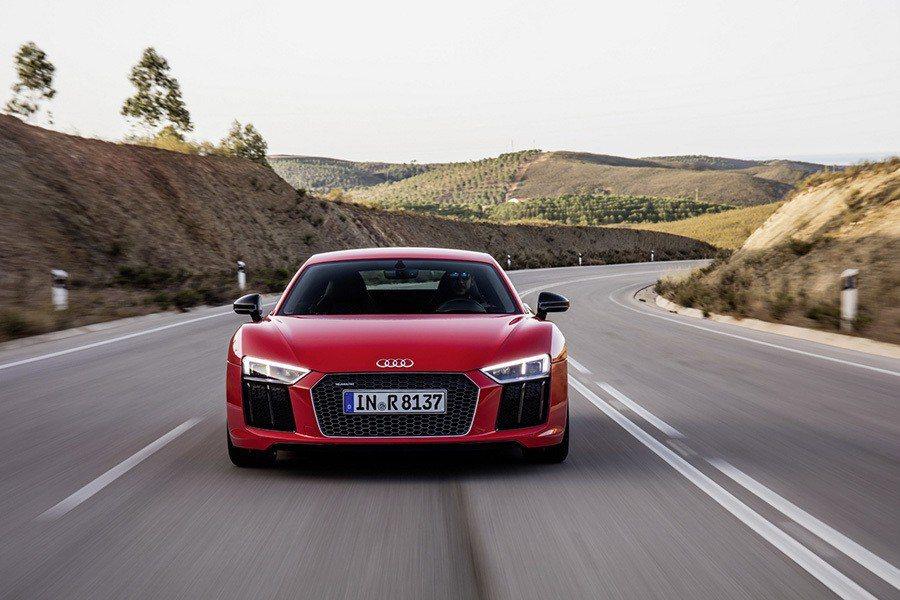 標準版R8 V10 Plus。 圖/Audi提供