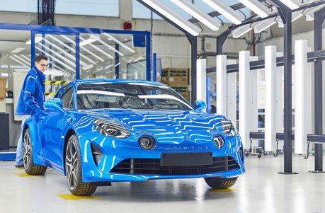Renault慶祝Alpine A110生產線啟動