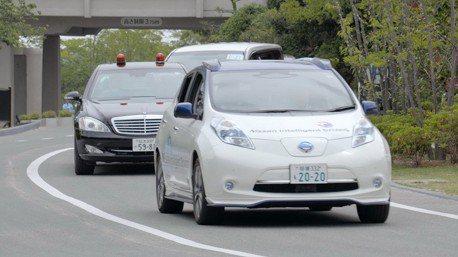 Nissan明年開始在日本測試自動駕駛計程車