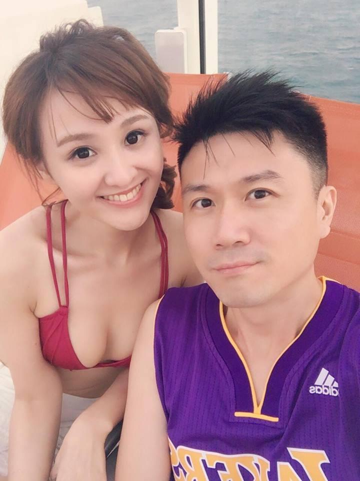 陳家頤已經準備與王李中彥步入禮堂。圖/摘自臉書