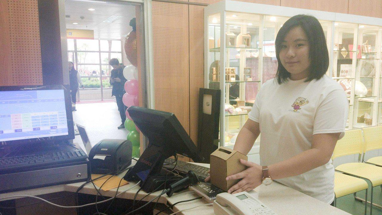 北商大在校慶百周年也啟用校內的「智慧實驗商店」。 記者林良齊/攝影