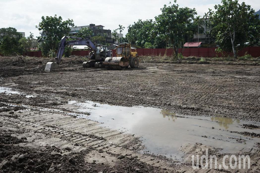 花蓮青年住宅基地位於新城鄉北埔村,共8千坪,將建7棟共809戶。記者王燕華/攝影