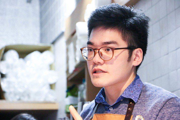 GinGin老闆蘇裔駿。圖/謝欣倫攝影
