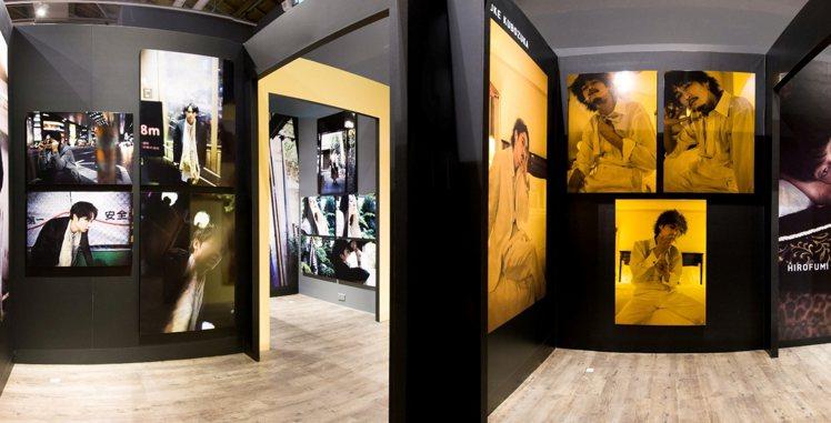 蜷川實花影像展現場空剪私人房間為概念。圖/株式會社 MCIP提供
