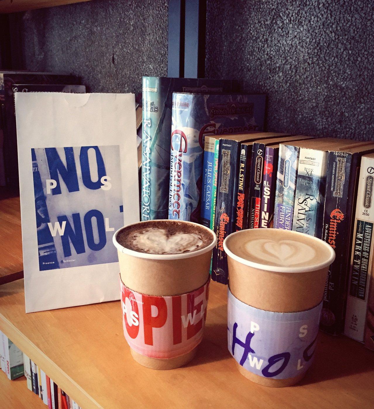 PSWL系列和好物Spirit咖啡推出限量咖啡外帶杯套及紙袋。圖/Proenza...