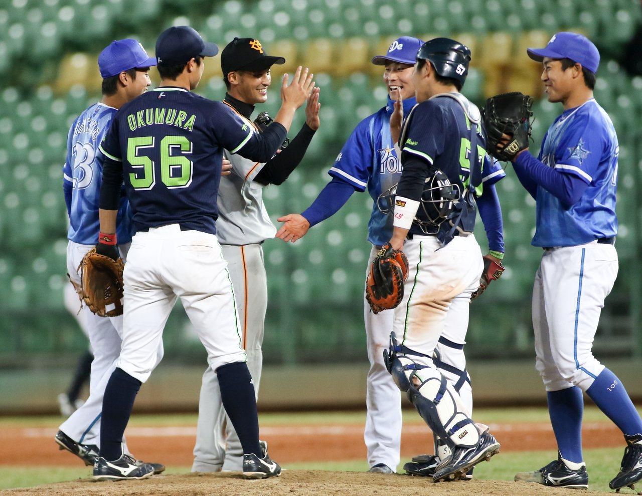 日職東軍擊敗日本社會人隊,將與韓職聯隊爭冠。圖/中職聯盟提供