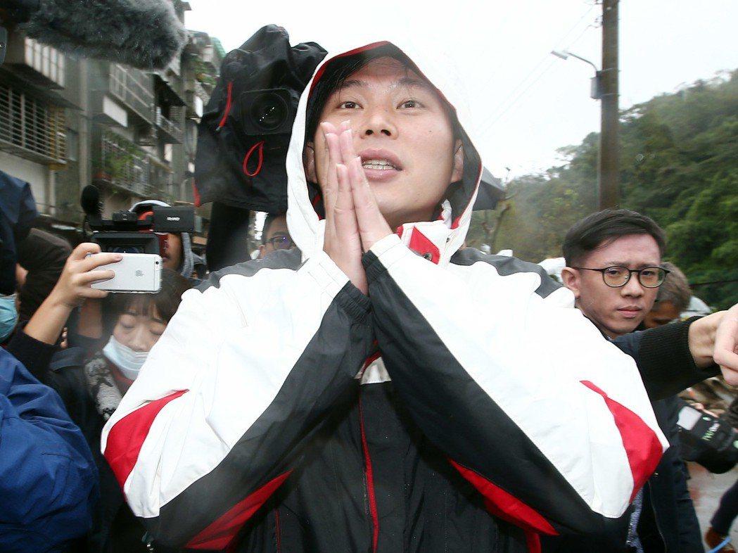 立委黃國昌。 記者杜建重/攝影