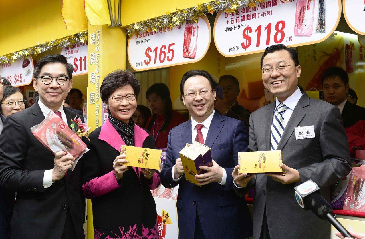 「掃一掃」帶旺 工展銷售衝10億 香港中國通訊社