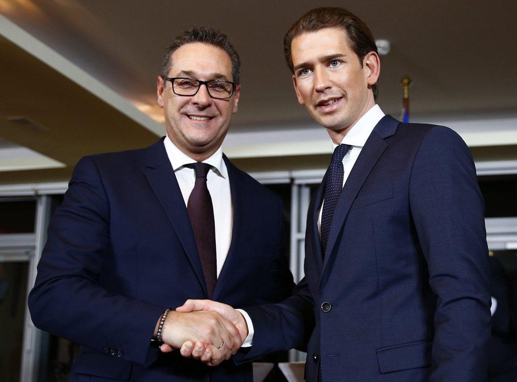 奧地利極右政黨入閣 西歐僅見 路透社