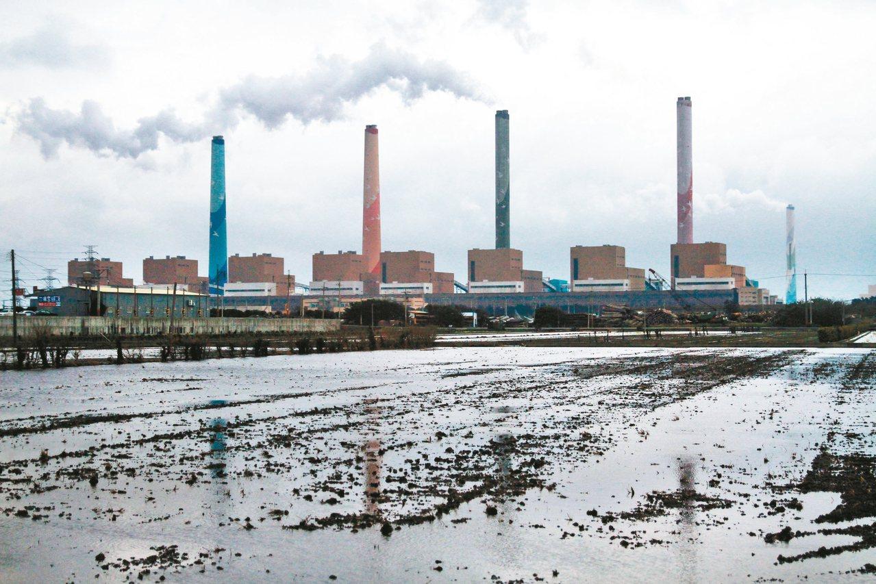 台中火力發電廠。 圖/聯合報系資料照片