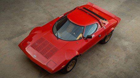 經典Lancia Stratos HF Stradale跑車不但稀有還很保值