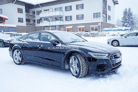 新世代Audi RS7 Sportback偽裝車曝光