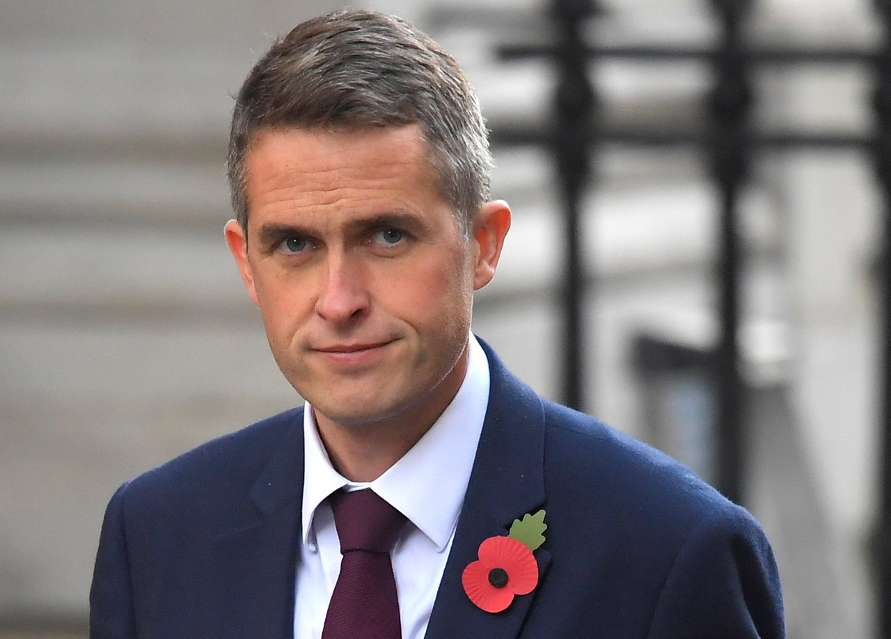 英國新任國防大臣威廉森。路透社