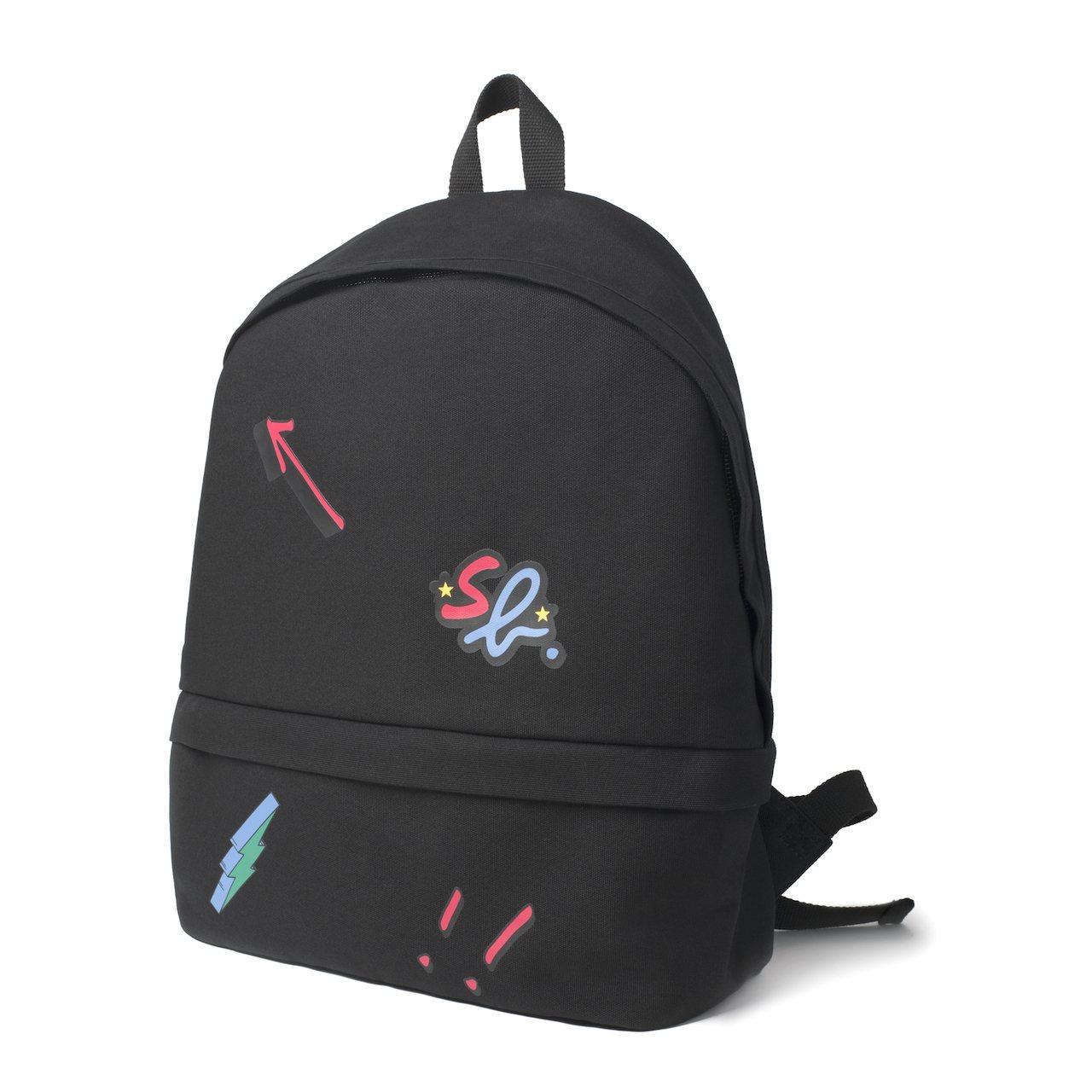 黑色後背包,3,980元。圖/SPORT B. 提供