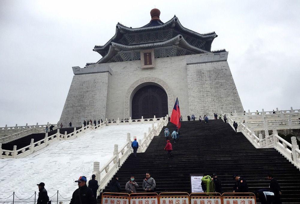 中正紀念堂。 聯合報系資料照片/記者陳柏亨攝影