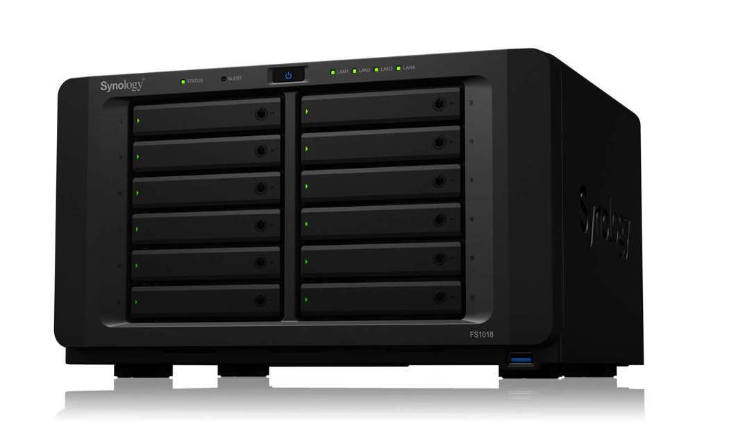 Synology FlashStation FS1018,建議售價47,999元...