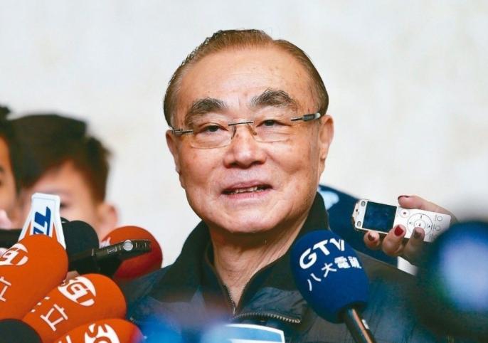 國防部長馮世寬。聯合報系資料照。