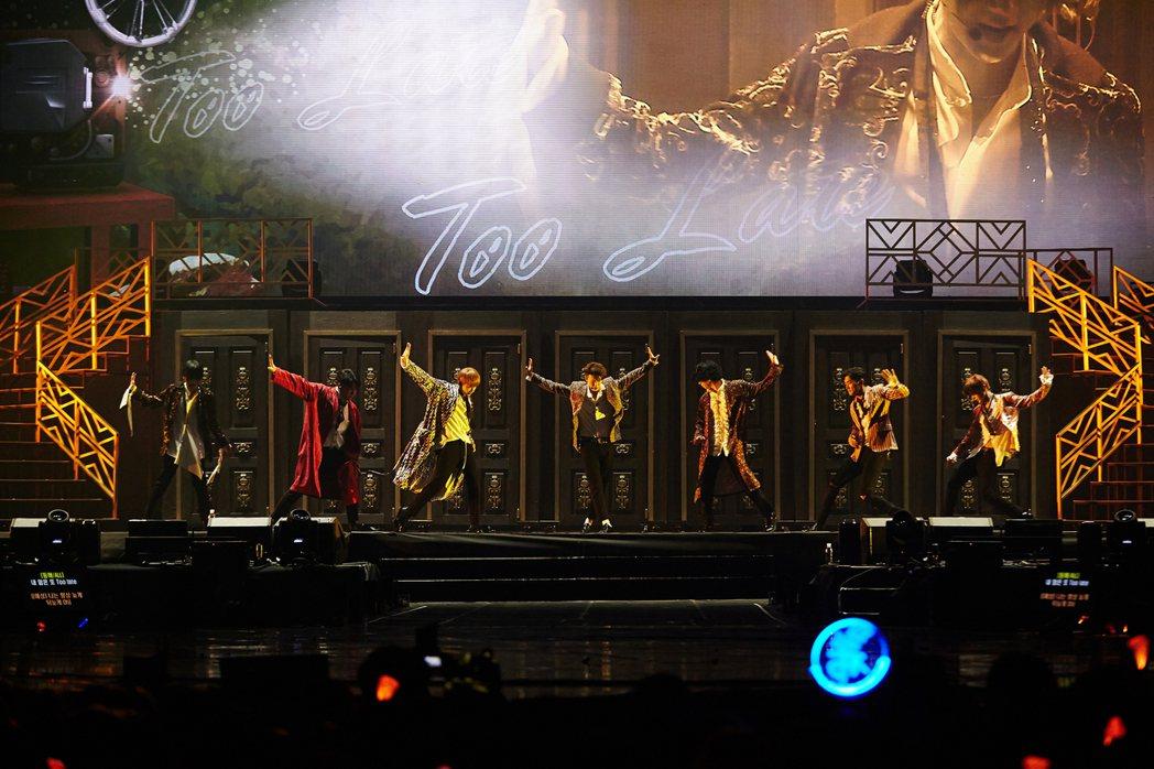 Super Junior全新巡演「SUPER SHOW 7」,展現出道13年舞台...