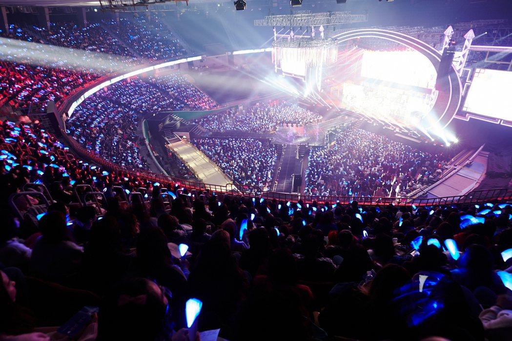 Super Junior的啟動全新巡演「SUPER SHOW 7」,3場吸金台幣...