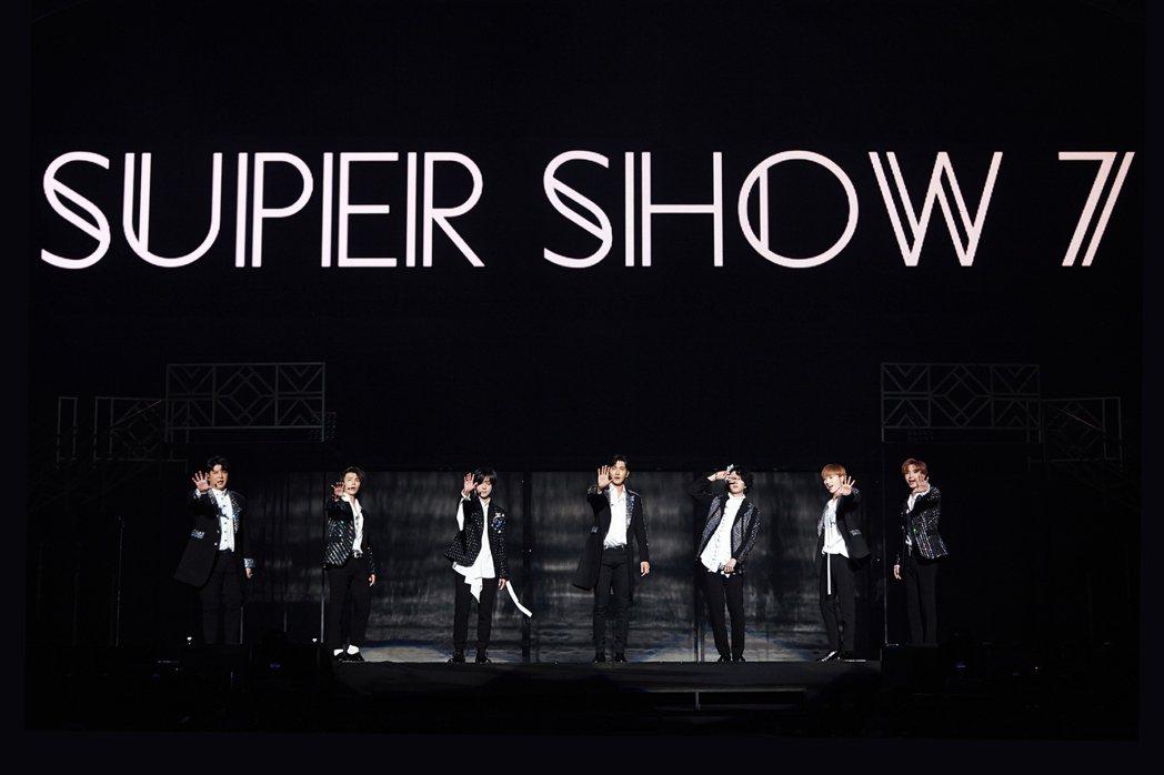 Super Junior全新巡演「SUPER SHOW 7」,。圖/S.M. E...