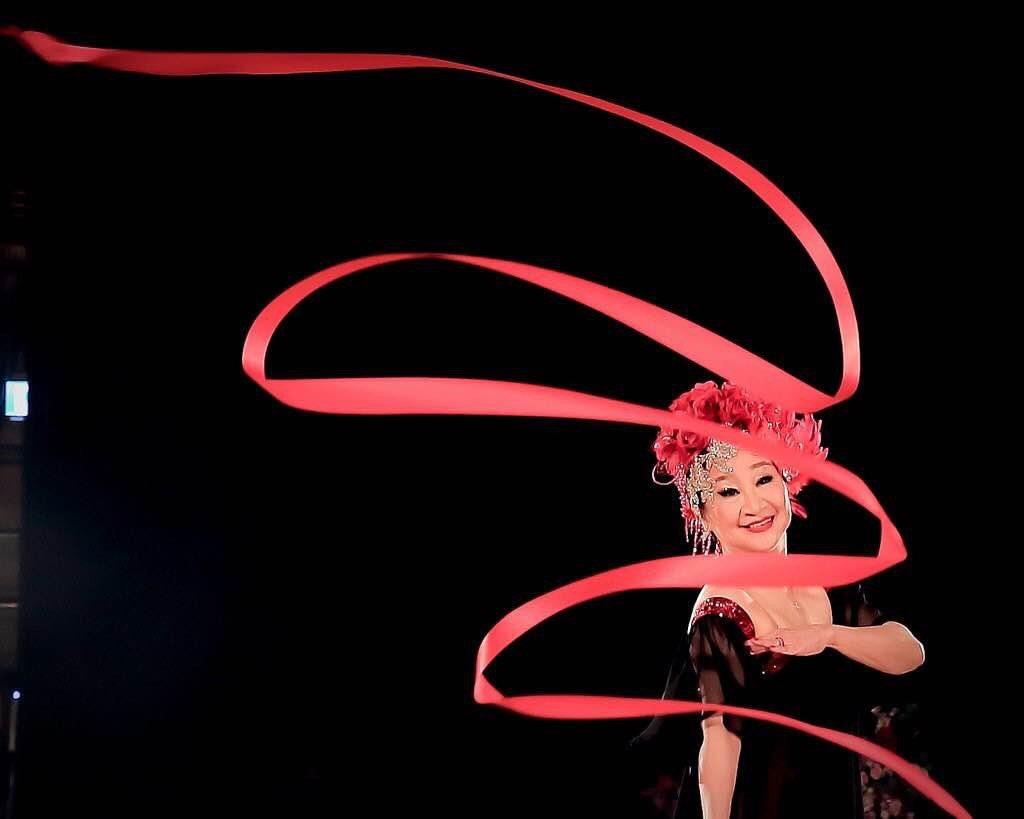 陶王復蓉從國標舞找到對生命的熱情,活出凍齡窈窕體態。圖/陶王復蓉提供
