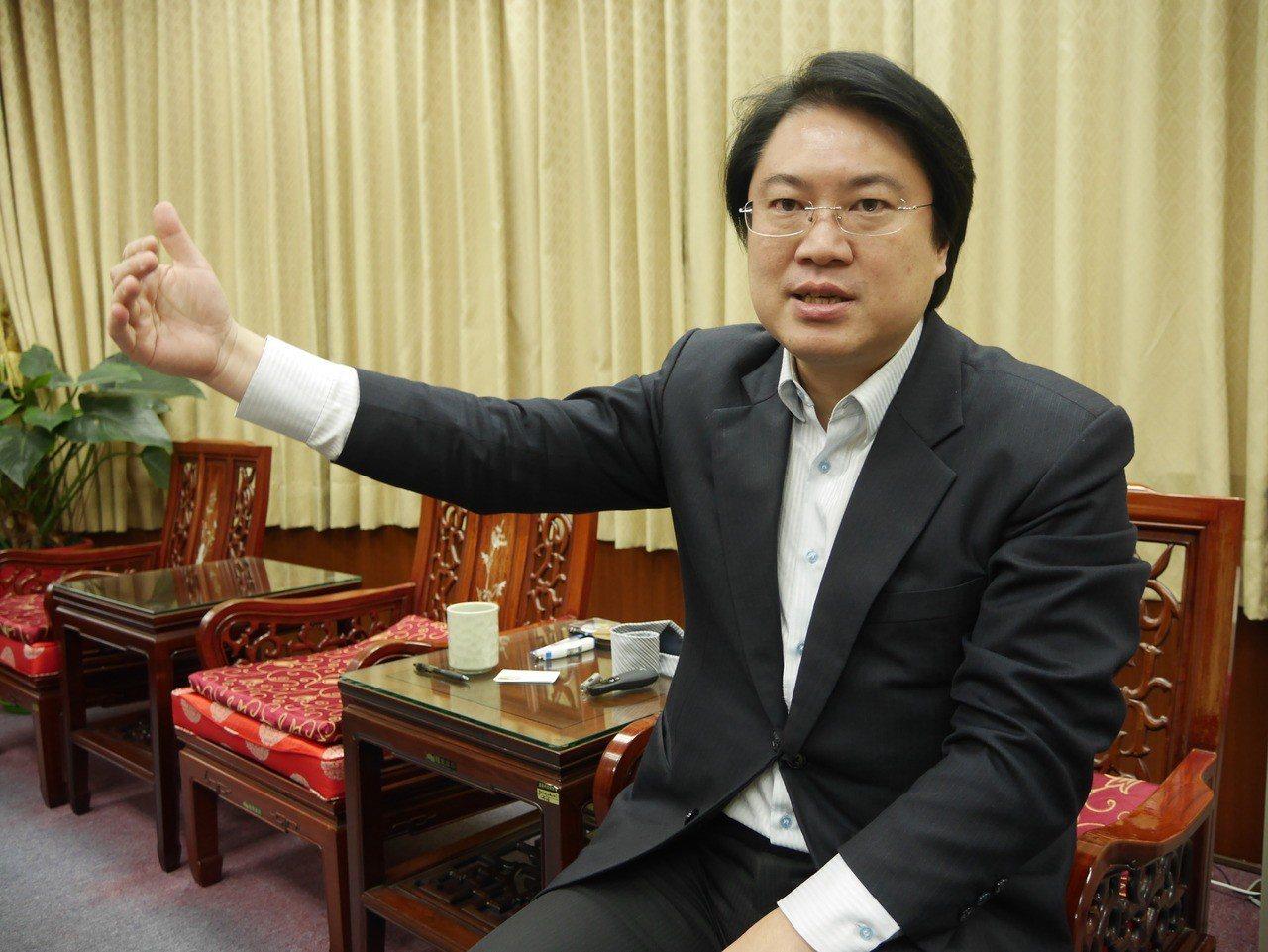 基隆市長林右昌。 聯合報系記者吳淑君/攝影