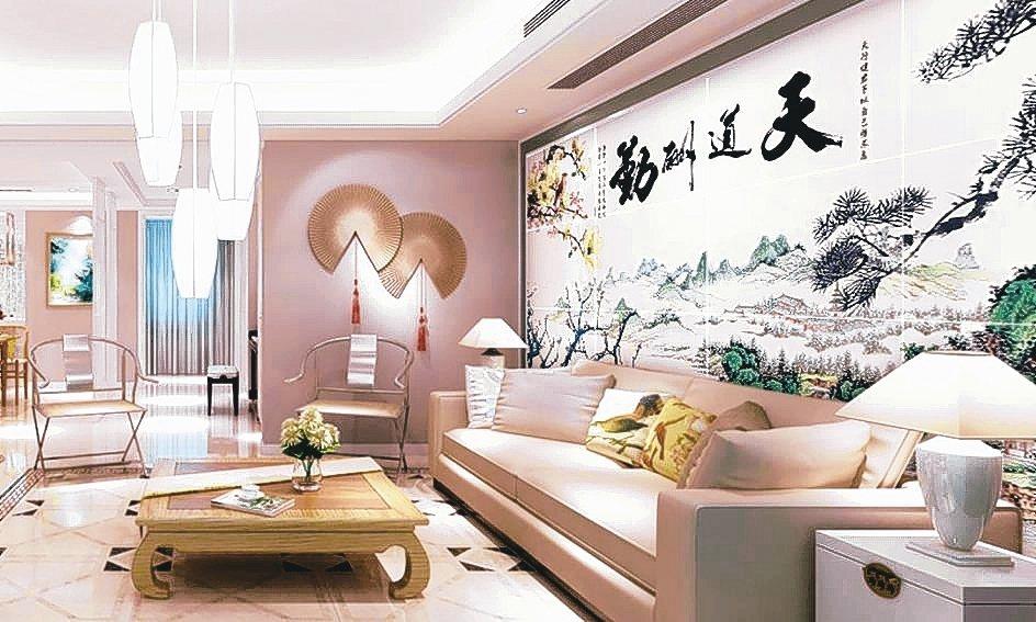 甲等磁磚推出的磁磚背景牆,可以優化空間提升美感。 甲等/提供