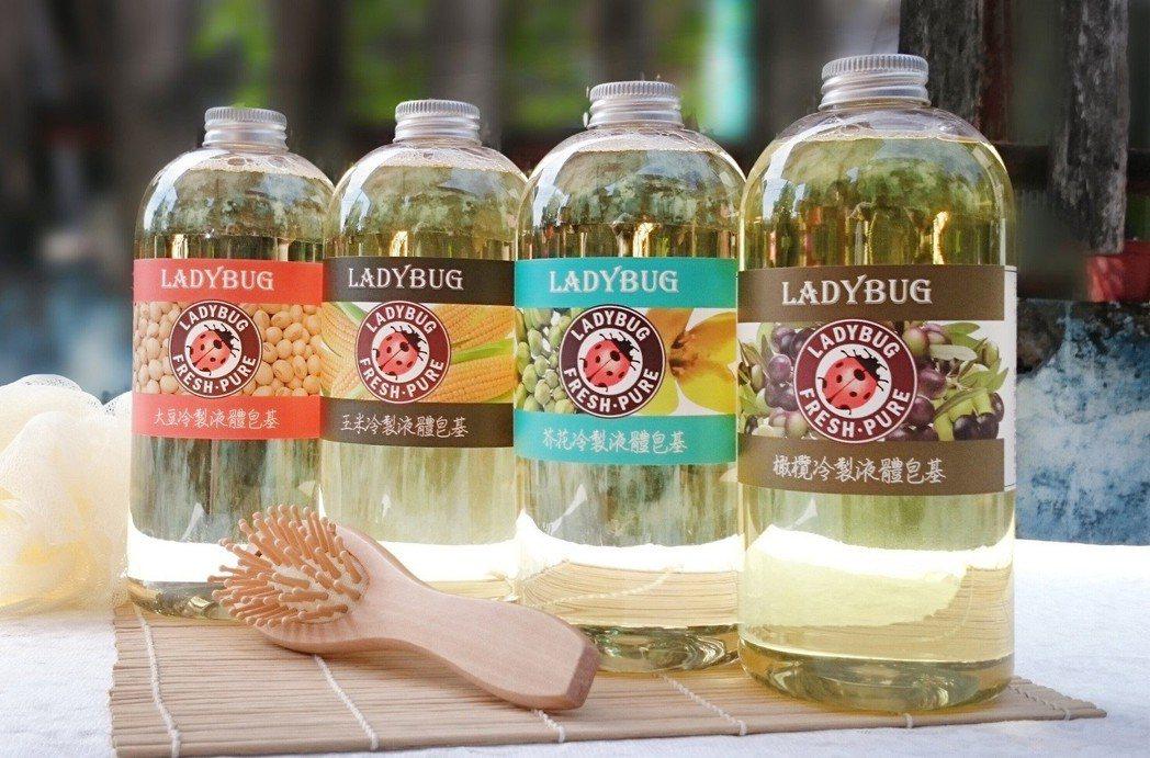 盎谷實業專注液態皂基之研發與製造,採用食品級植物油精製,不添加香精。 業者/提供