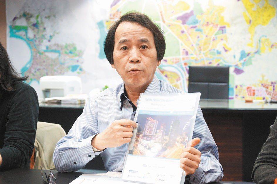 台北市副市長林欽榮。 聯合報系資料照片/記者劉宛琳攝影