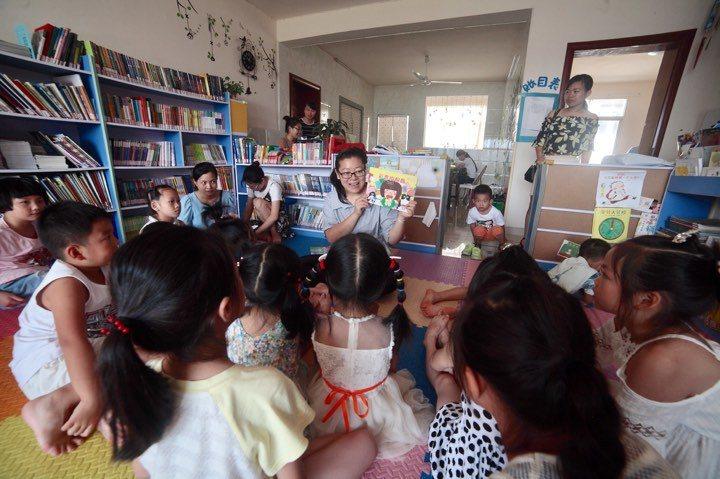 丰盛圖書館讓宜丰的居民真實感受書籍與閱讀的美好。