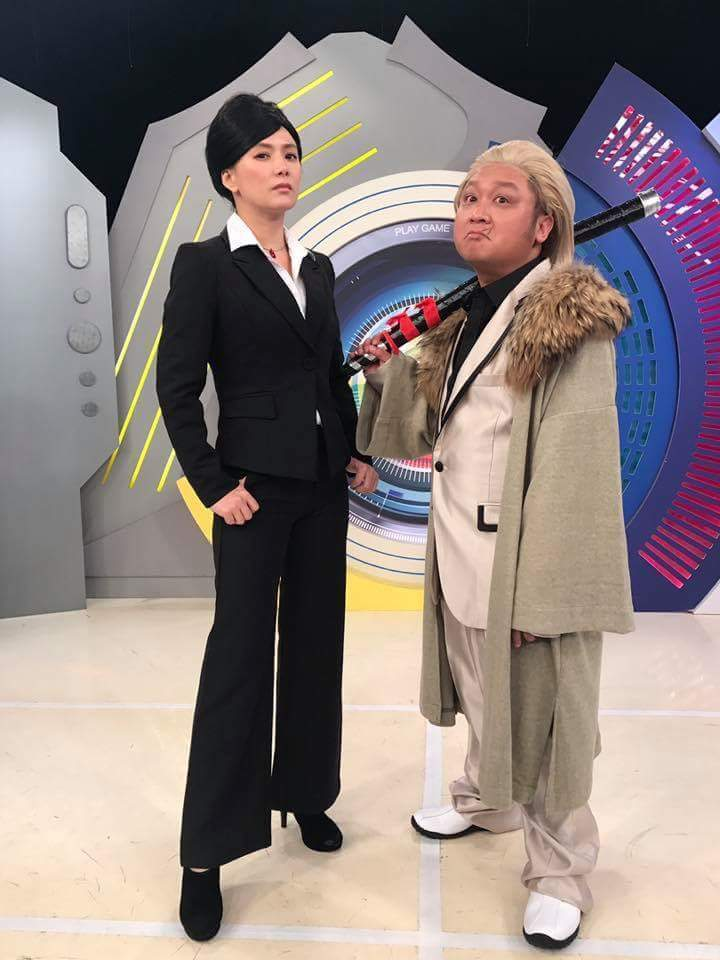 納豆常配合節目cosplay。 圖/摘自臉書