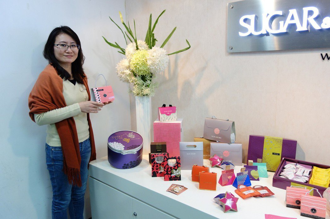 糖村禮盒設計。記者郭玫君/攝影