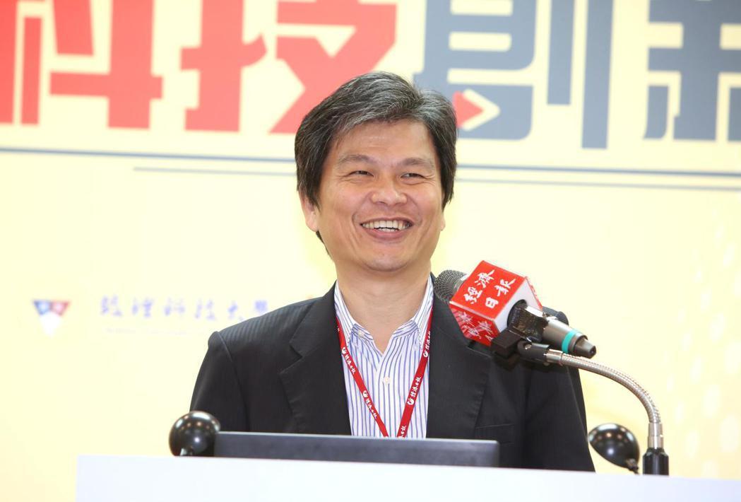 資訊工業策進會副執行長楊仁達。 毛洪霖/攝影