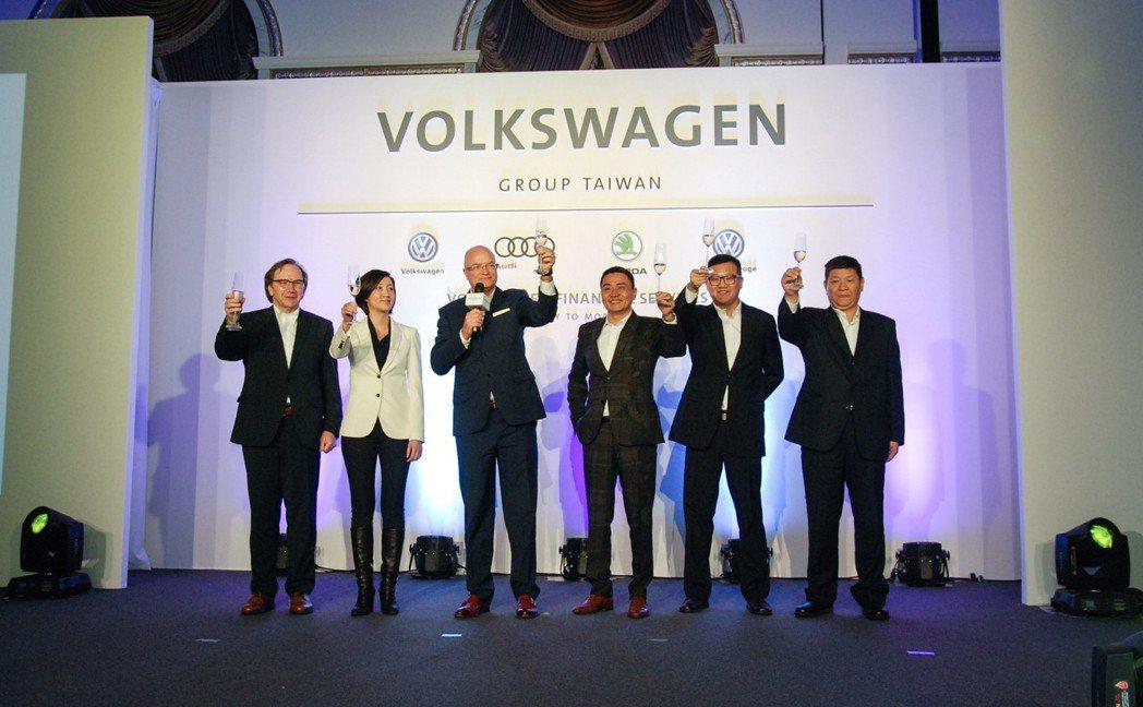 擁有 Audi、Volkswagen、Škoda 與 VW CV福斯商旅的台灣福...