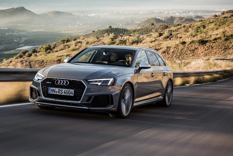 Audi RS4 Avant完整廠照公佈