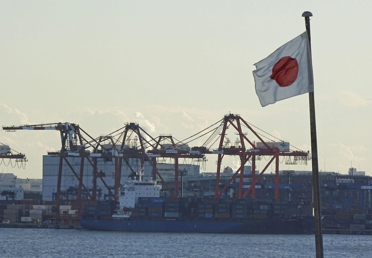 日本11月出口優於市場所料。(美聯社)