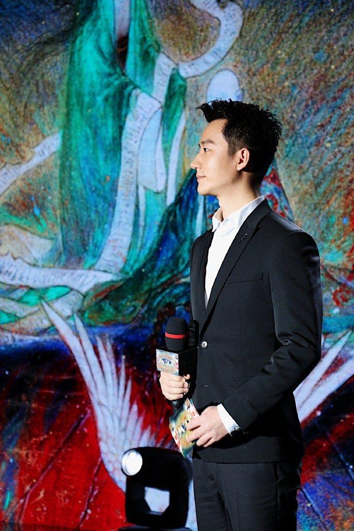 黃軒出席「妖貓傳」北京首映。圖/摘自微博