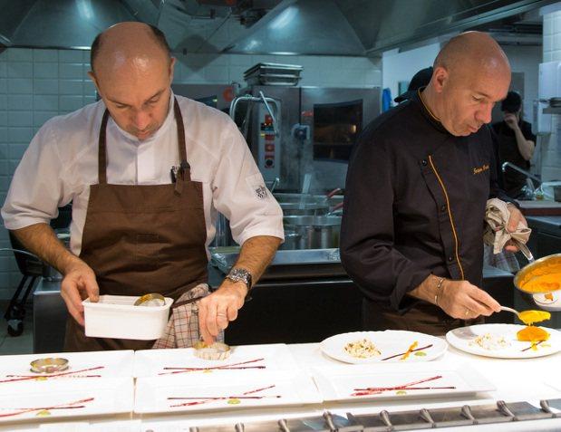 法國米其林三星餐廳Pourcel主廚Jacques及Laurent Pource...