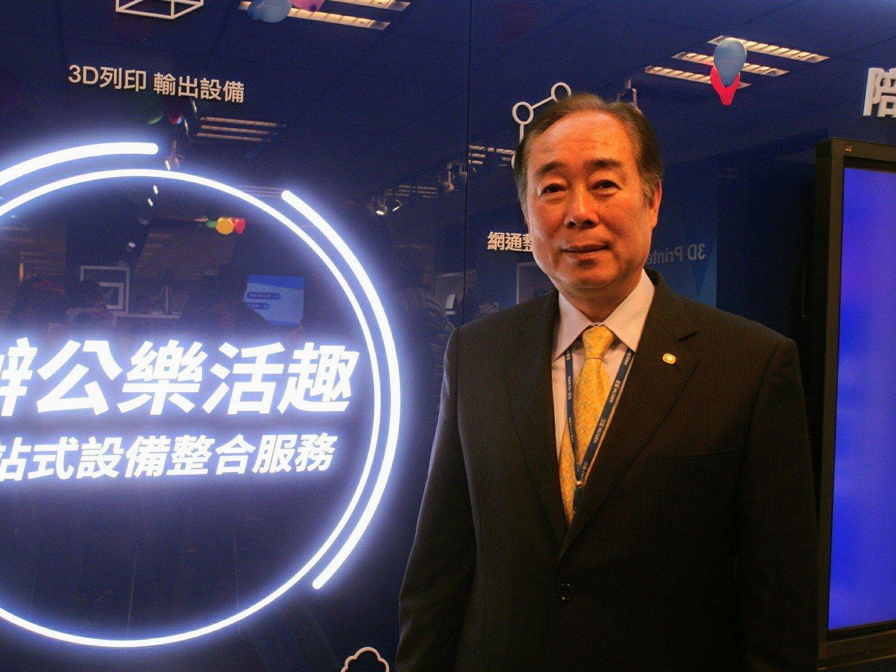 互盛總經理翁國華。 記者何佩儒/攝影