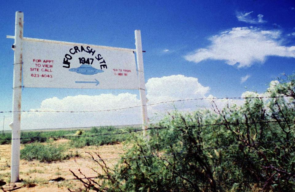 1947年發生於新墨西哥州的幽浮墜毀事件至今仍是個謎。路透