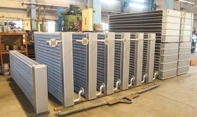 啟碩熱能公司推出新型熱交換器(一)。 陳華焜/攝影