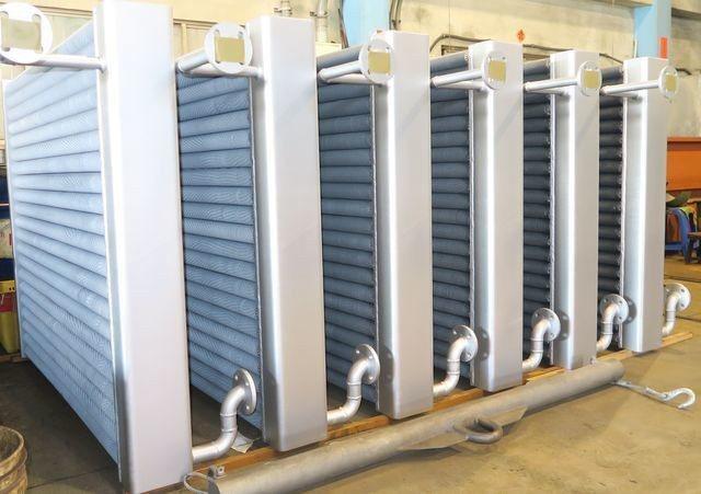 啟碩熱能公司推出新型熱交換器(二)。 陳華焜/攝影