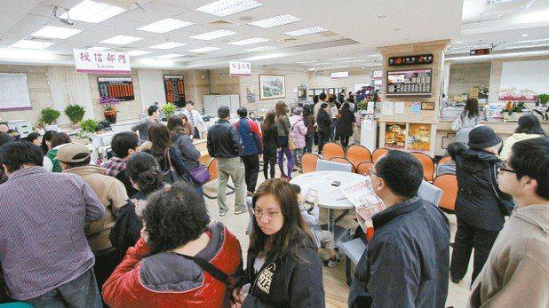 四大公股銀行2018年起將取消兩岸中文匯款服務。 報系資料照