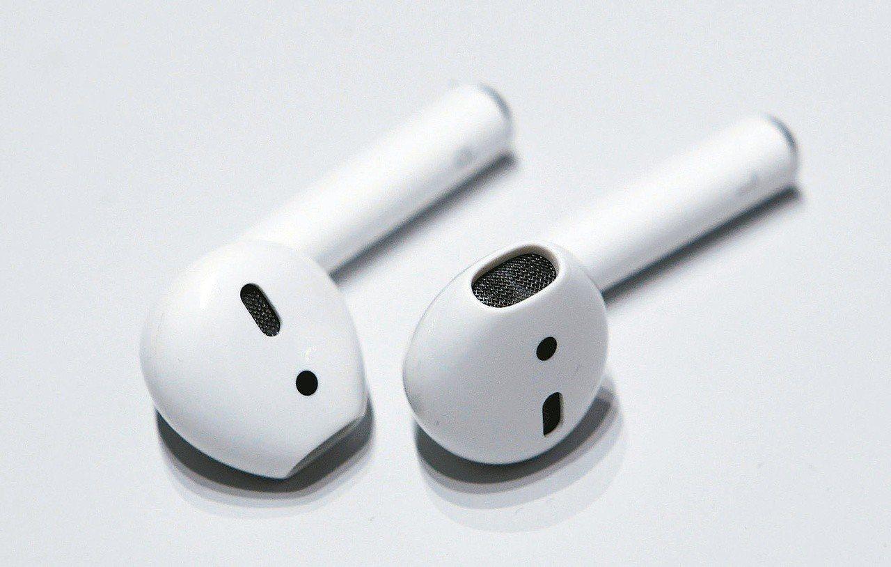 蘋果無線耳機AirPods銷售火熱。 路透社
