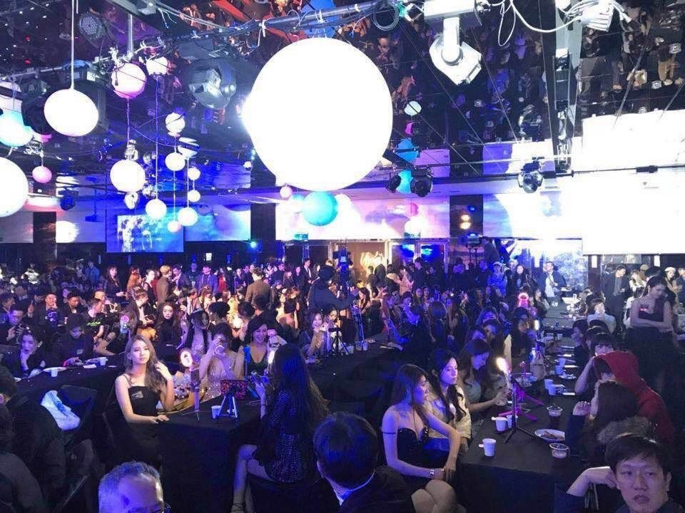 超過400位人氣網紅齊聚一堂。 Uplive/提供