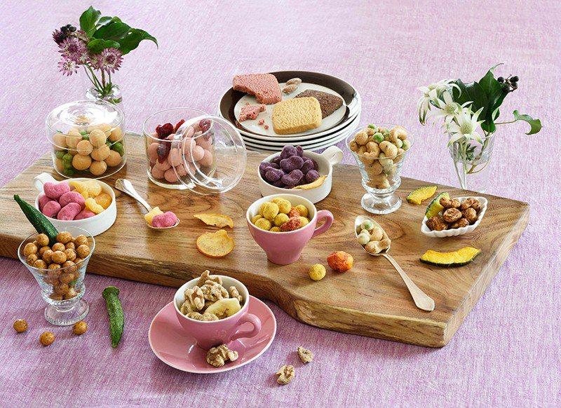 宛如可愛珠寶首飾般的豆子甜點,是自由之丘的人氣甜品。