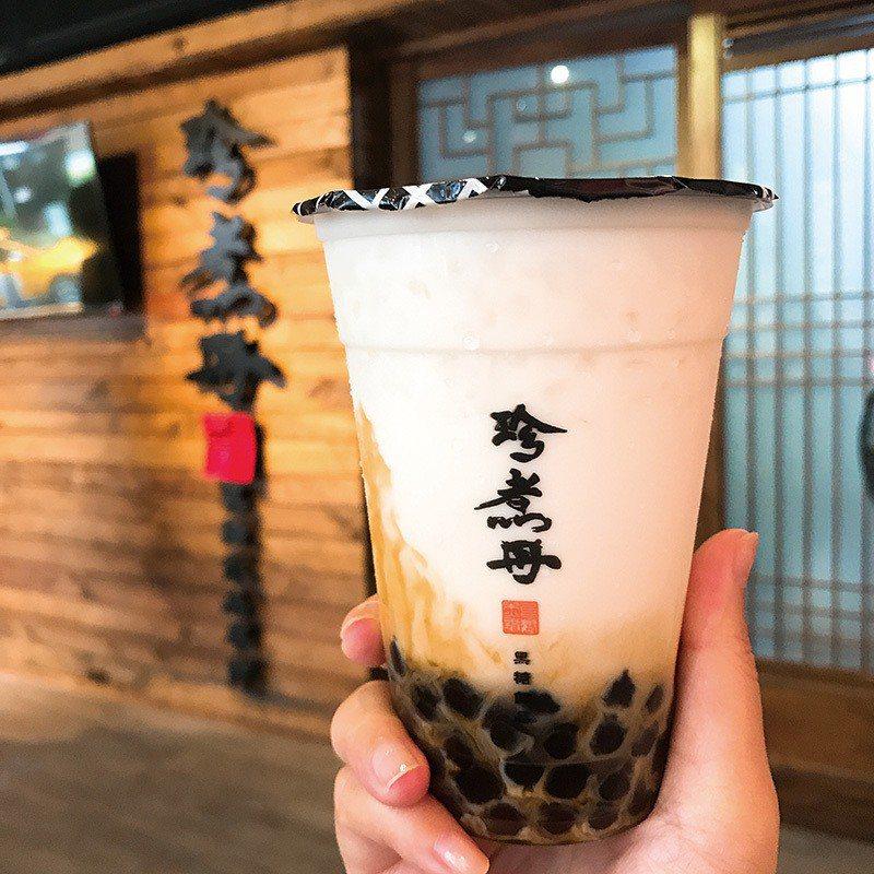 黑糖珍珠鮮奶50元/中杯