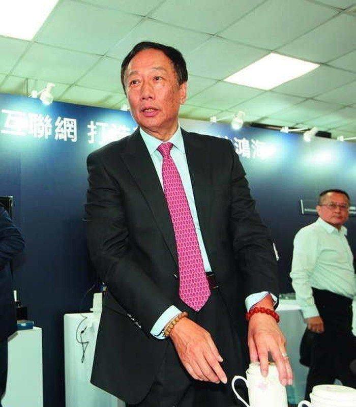 今年郭台銘一句「如果非必要不會回台灣」,在政壇與業界投下一顆震撼彈。 攝影/郭晉...